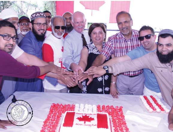 Masjid ur Rahmah celebrates Canada Day 150 with an open House in the Neighborhood