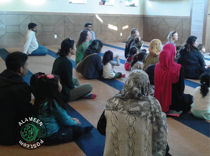 Preschoolers Visit Eid Party at Masjid Al Iman