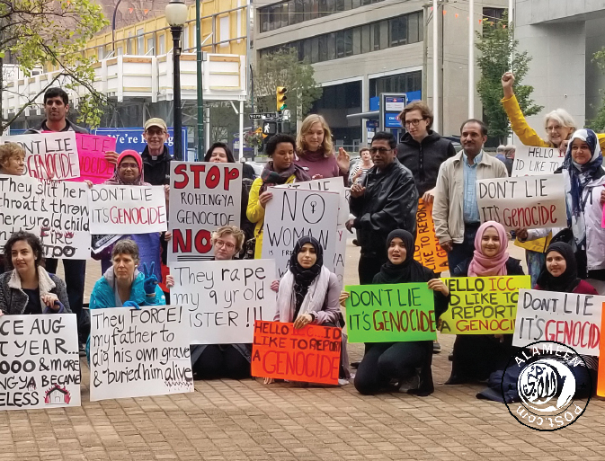 """Vancouver marks """"Rohingya Genocide Remembrance Day'"""""""