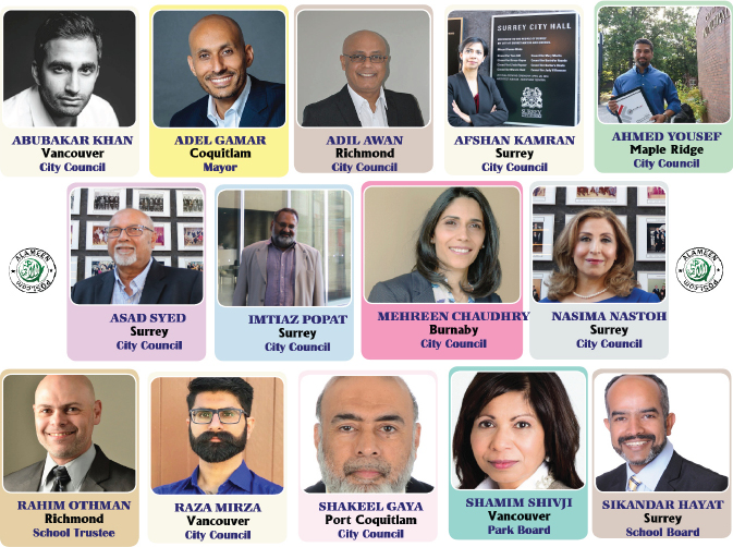 """2018 Municipal Elections  """"Record number of Muslim Candidates"""""""