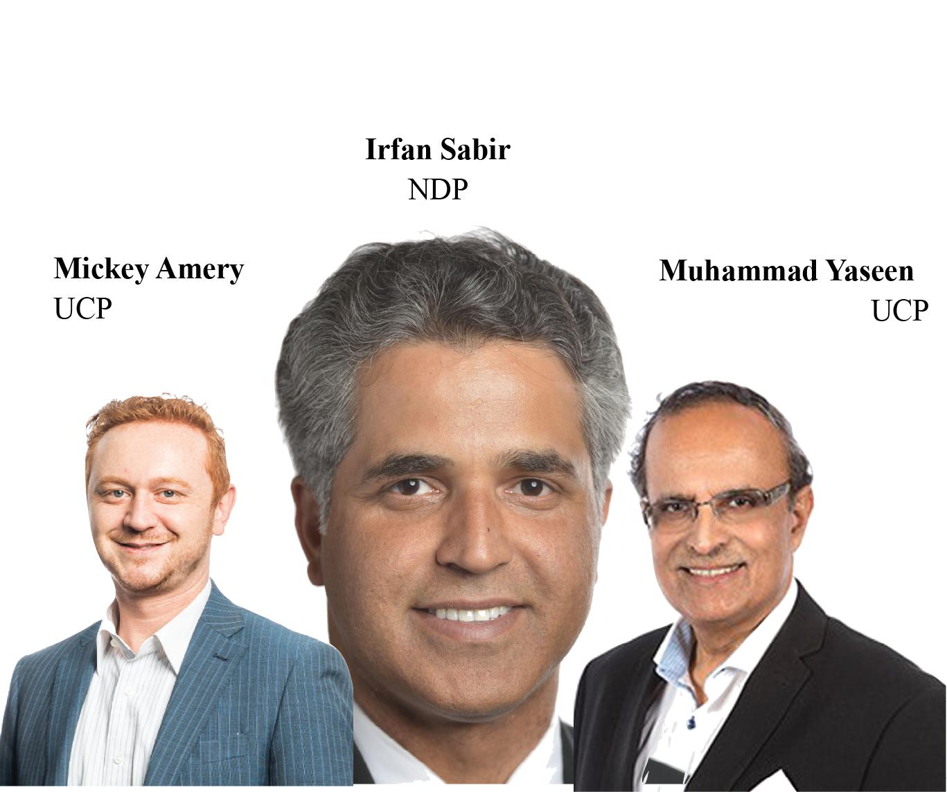 Alberta provincial election elects three Muslim MLA's