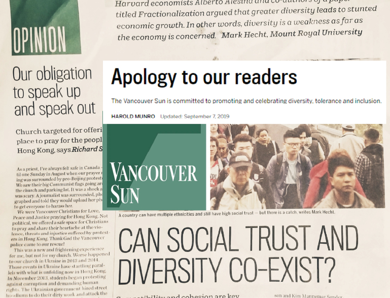 Canadians sends a strong message to Postmedia: Diversity requires trust