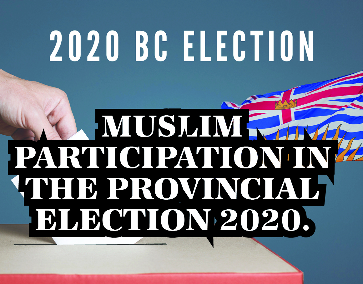 Muslim participation in the provincial Election 2020.