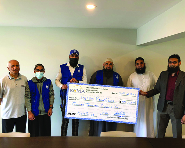BCMA Releases funds for Palestine Relief