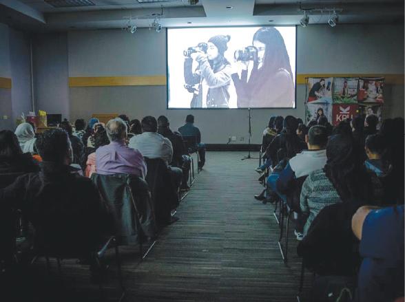 KPU DigitaLENS Visual Media Workshop Screening
