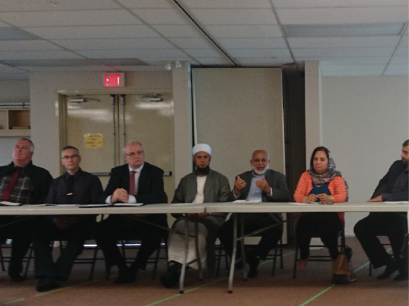 Roundtable Meeting of the stakeholders including the Muslim Community Leaders.