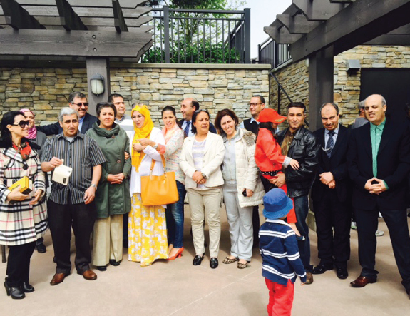 Moroccan mobile consulate Visits Vancouver