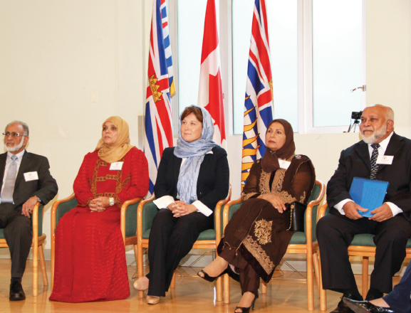 BCMA organizers visit of  Honourable Christy Clark