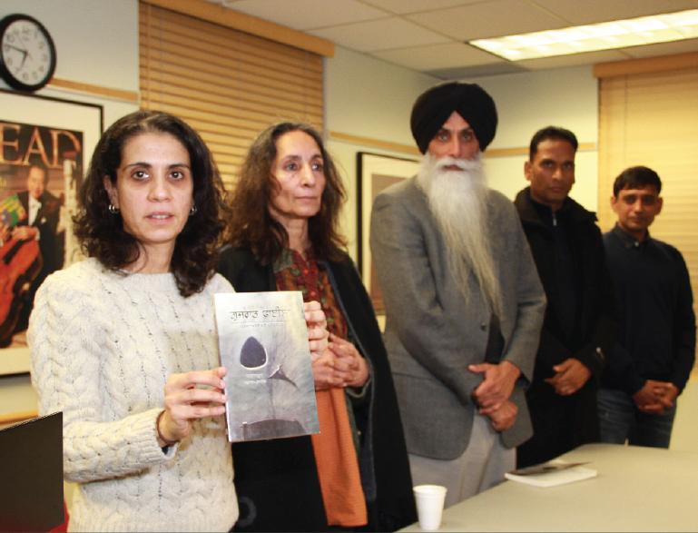 Rana Ayyub's Gujarat files launched in Punjabi in Surrey