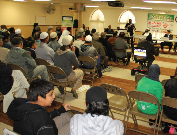 First of 3 : All candidates meeting in Surrey Jamea Masjid
