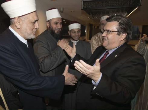 Muslim community thanks Quebec politicians with formal dinner