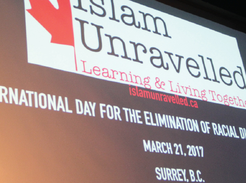 Islam Unravelled commemorating the United Nations International Day for the elimination of Racial Discrimination