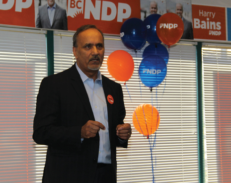 MLA Harry Bains office opening