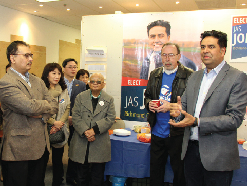 BC Liberals have acclaimed Jas Johal as the 2017 candidate for the new provincial riding of Richmond-Queensborough