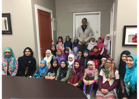 The First Muslim Girl Guides of BC