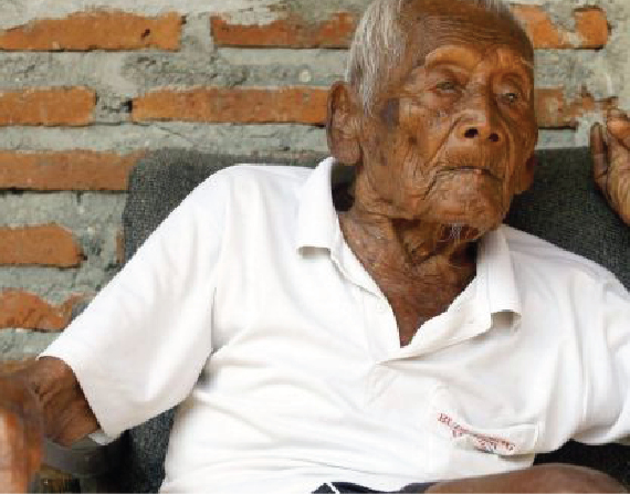 Indonesian, 146, claimed to be world's oldest man dies