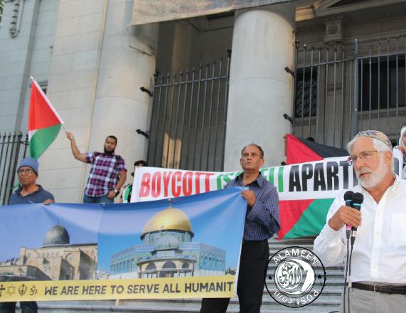 Solidarity Rally for Masjid Al Aqsa Mosque in Vancouver