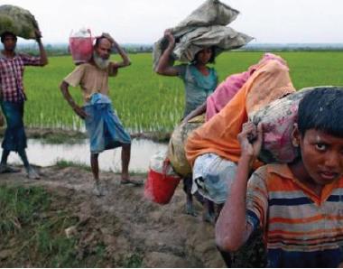 India 'using chilli sprays, stun grenades' to dissuade Rohingya influx