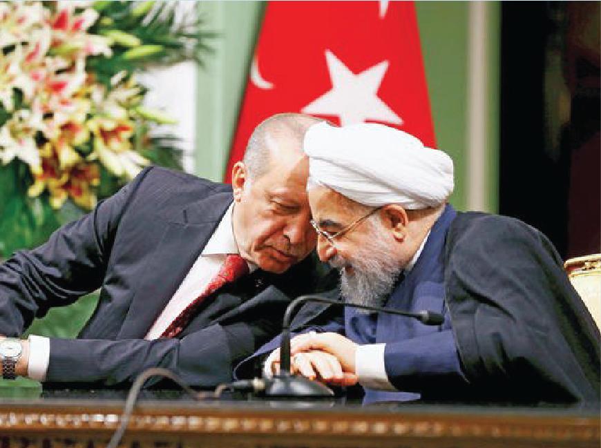 Erdogan, Rouhani vow to halt Iraqi Kurds' secession