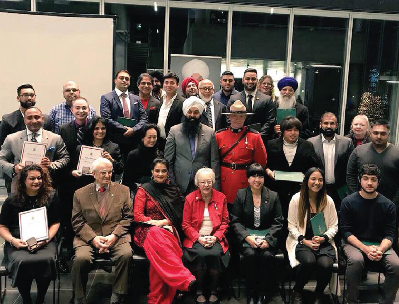Surrey Centre Canada 150 Awards Ceremony
