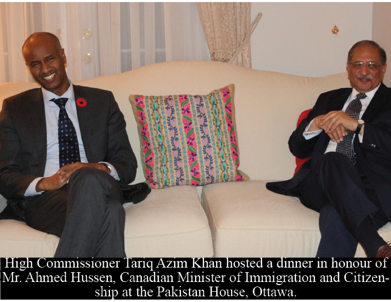 Canadian Immigration Minister assures to speed up visa processing for Pakistani students and businessmen