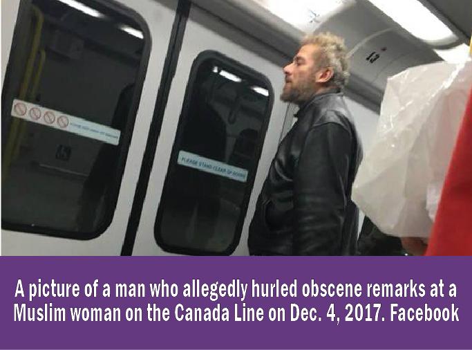Transit police arrest man for alleged Unprovoked Hate Crime on Canada Line