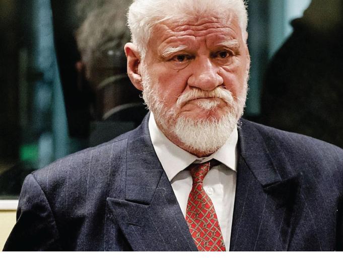 War criminal Slobodan Praljak dead after drinking poison in court