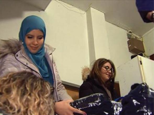 Muslim, Jewish women give back to community at Christmas