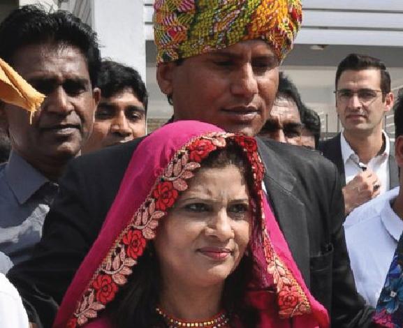 """Pakistan swears in first female Hindu lawmaker from """"untouchable"""" caste"""