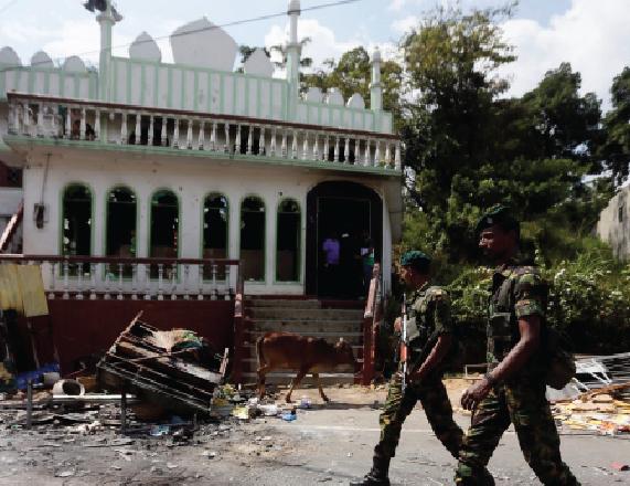 Inter-communal violence in Sri Lanka