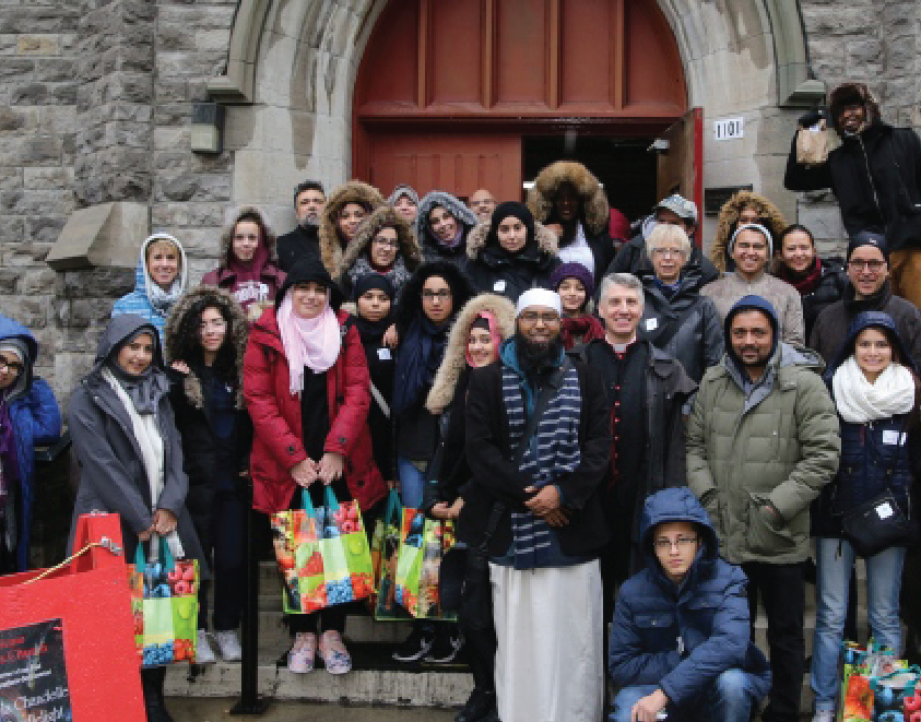 Christians and Muslims join forces to feed homeless in downtown Montreal