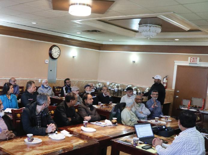 CSOFM hosts Seniors Tax Seminar