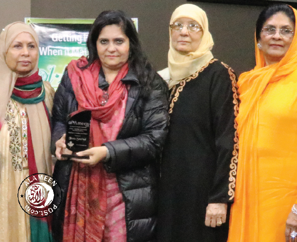Teesta Setalvad honoured with Award for Defender of Justice and Peace In Vancouver