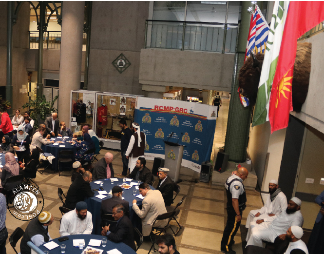 Second annual community Iftar with Surrey RCMP