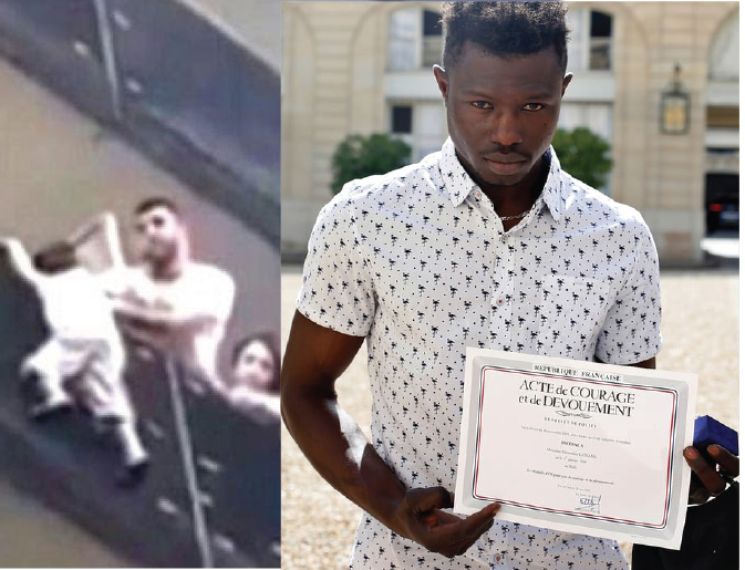 'Muslim Spiderman' to get French citizenship after saving child