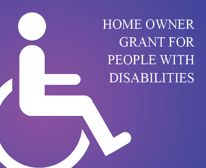 Home Owner Grant for People with Disabilities