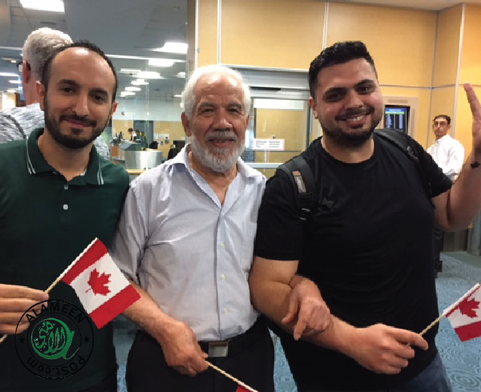 BCMA welcomes newly arrived Syrian Immigrants