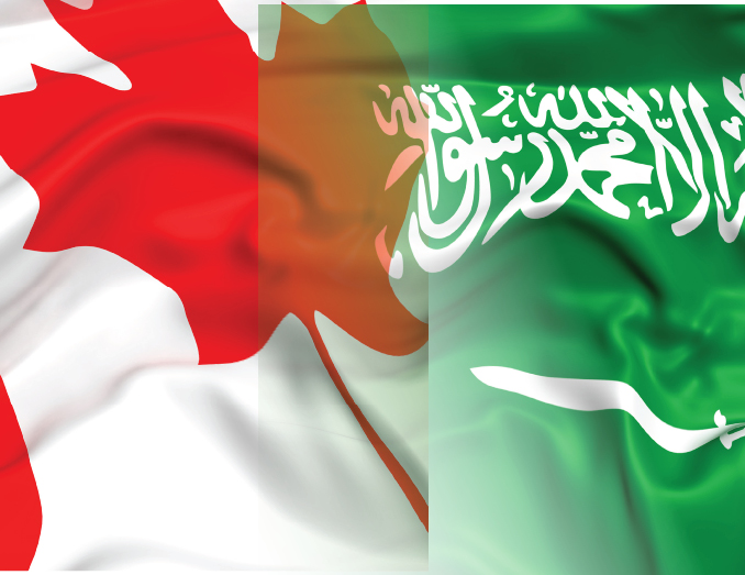 What is behind the spat between Canada and Saudi Arabia?