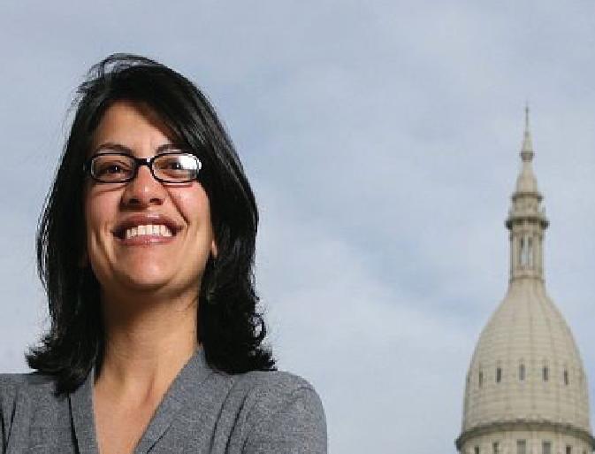 Rashida Tlaib becomes the first Muslim woman in US Congress