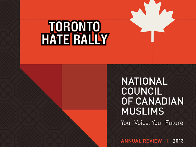 NCCM & UARR Welcome Postponement  of Toronto Hate Rally