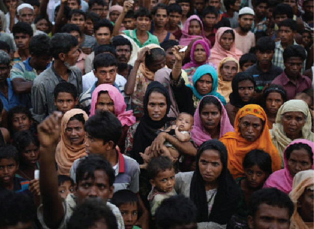 Bangladesh ignores Myanmar, delivers aid to trapped Rohingya Muslims