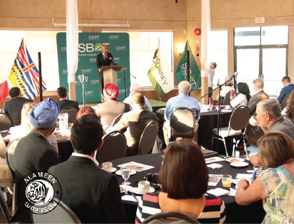 SBOT hosts  Breakfast with Federal Minister of Immigration - The Honourable Ahmed D. Hussen