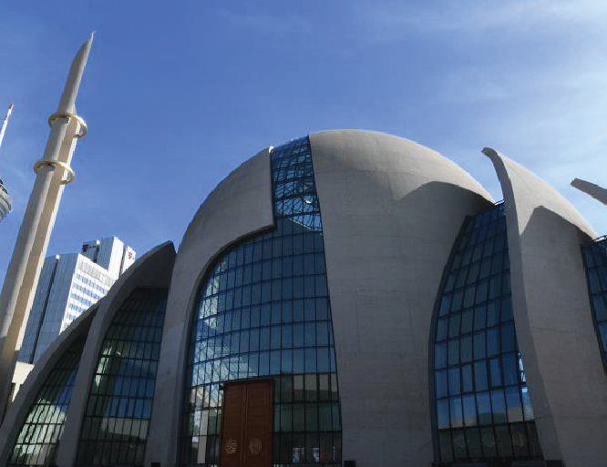 Erdogan opens mega mosque in Germany's Cologne