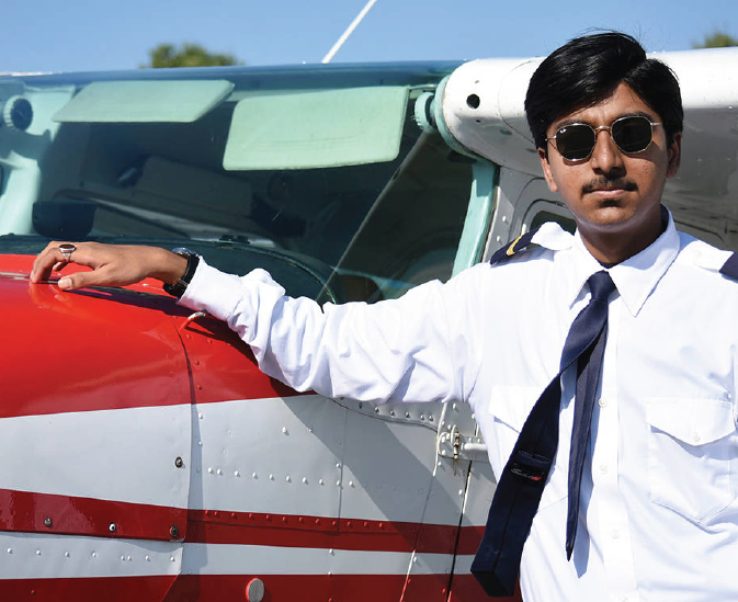 14-year-old pilot sets Guinness World Record at Langley airport