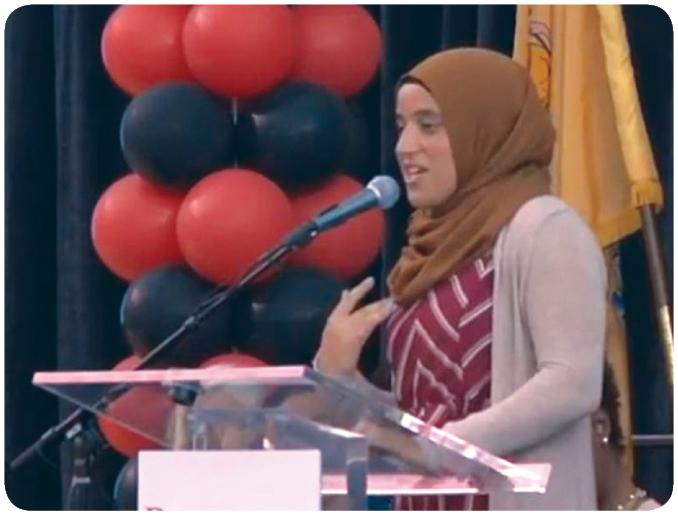 Rutgers University Elects New Hijabi Students' President