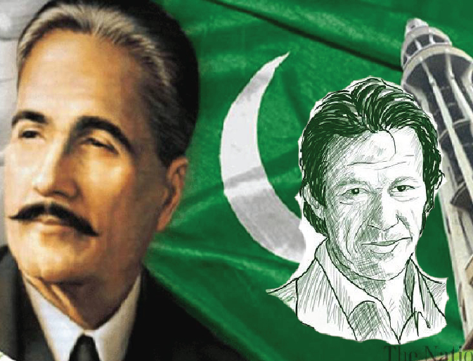ALLAMA IQBAL, PAKISTAN and IMRAN KHAN