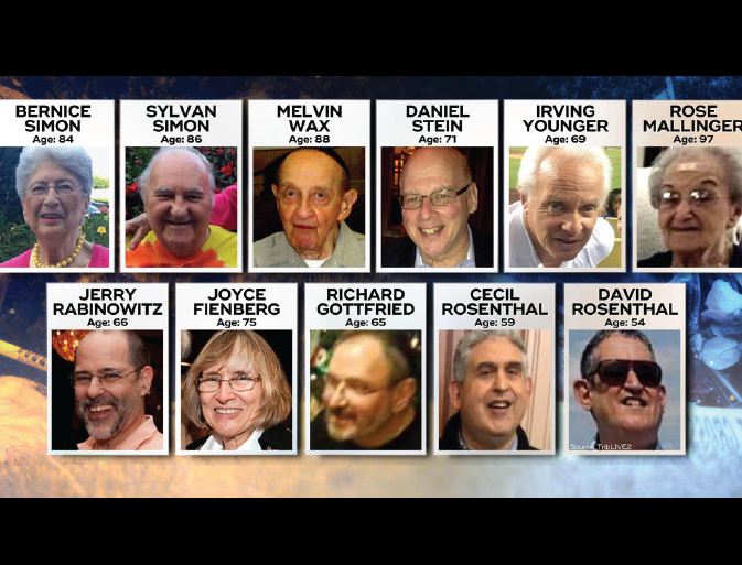 Our condolences to the families of eleven victims of the Pittsburgh Synagogue attack