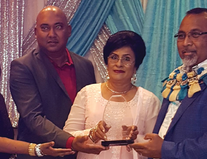 Disaster relieve society & Asian pulse Tv honors Ms Qamrul Mohammed