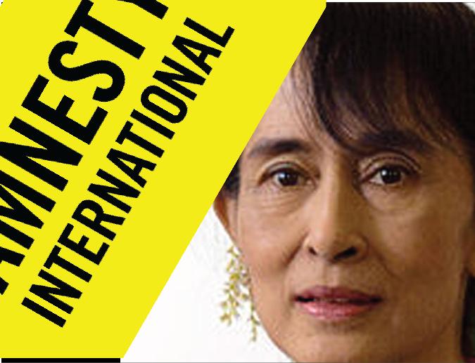Amnesty International strips Myanmar's Suu Kyi of 'conscience' award