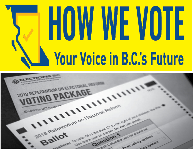 Proportional Representation: BC residents split three ways over whether to change voting system